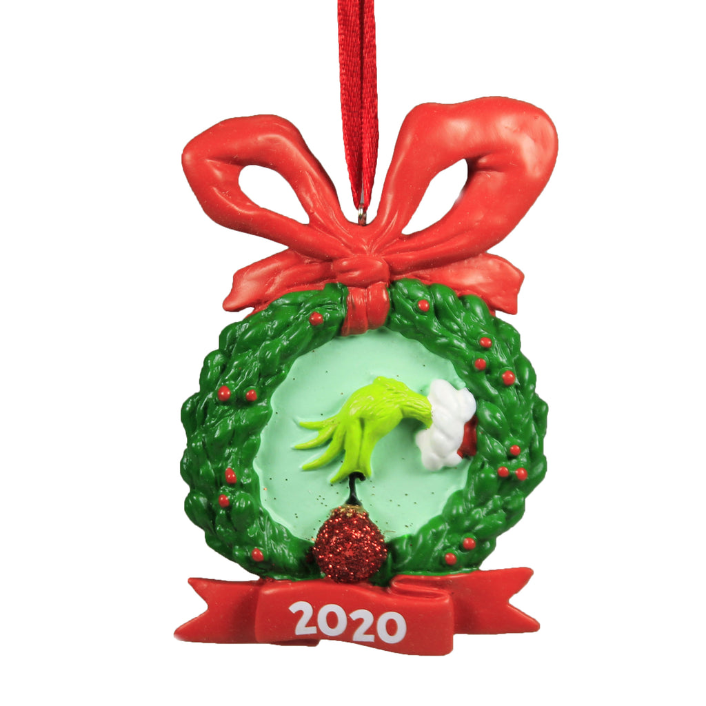 Grinch 2020 Dated Ornament 6006797 Holiday Ornament Resin Ornaments - SBKGIFTS.COM - SBK Gifts Christmas Shop Cincinnati - Story Book Kids