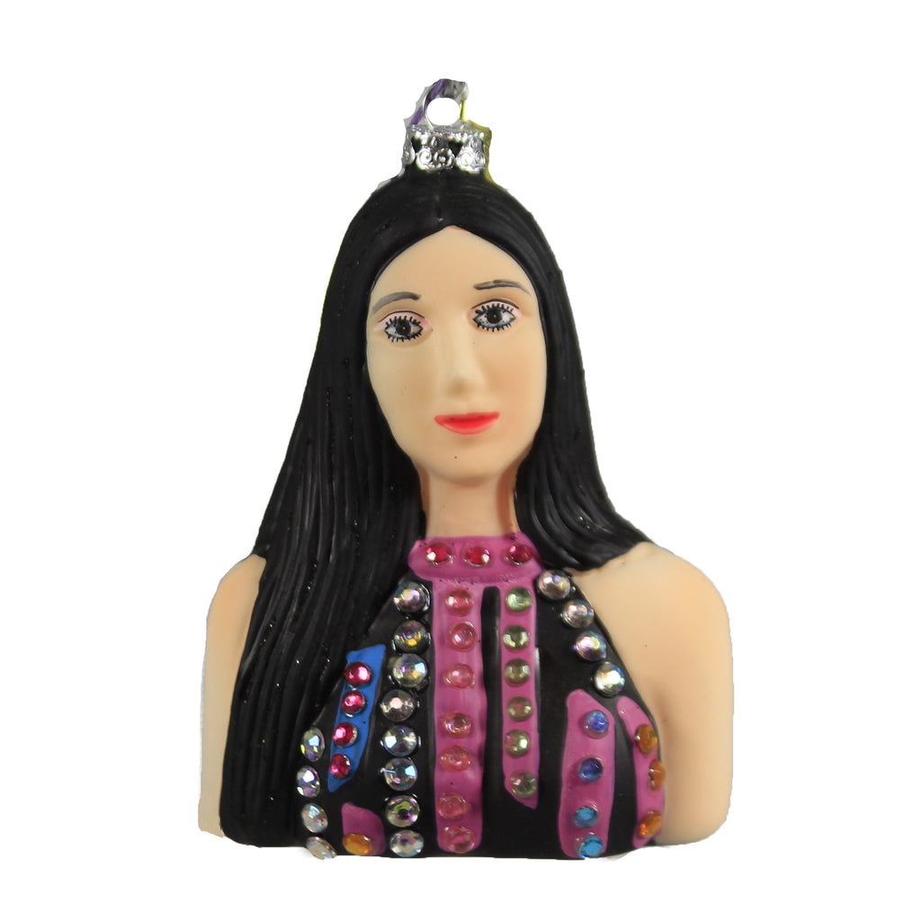 Cher Go6411 Holiday Ornament Glass Ornaments - SBKGIFTS.COM - SBK Gifts Christmas Shop Cincinnati - Story Book Kids