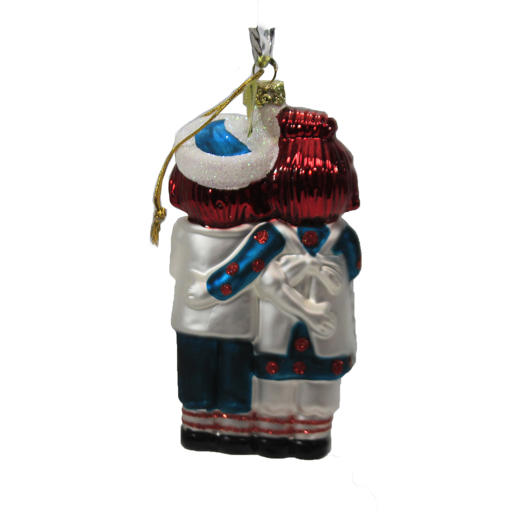 Retro Doll Go4216 Holiday Ornament Glass Ornaments - SBKGIFTS.COM - SBK Gifts Christmas Shop Cincinnati - Story Book Kids