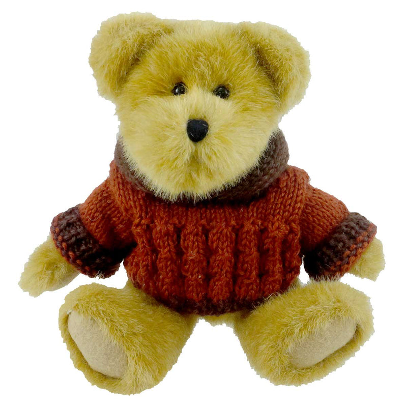 Boyds Bears Plush Goldie Mcpunkin Teddy Bear
