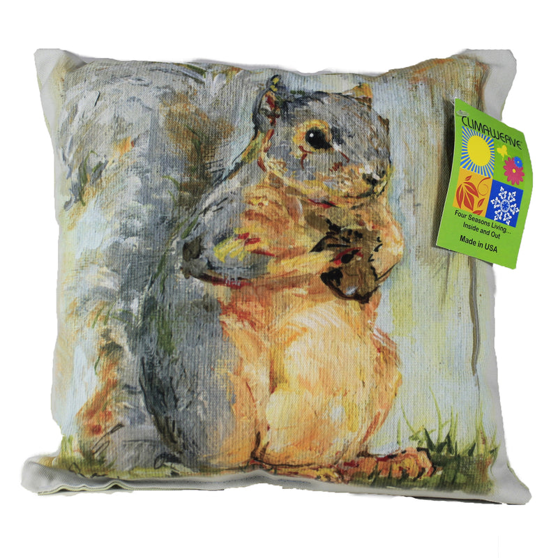 Squirrel And Acorn Sdpsqa Fall Decorative Pillows - SBKGIFTS.COM - SBK Gifts Christmas Shop Cincinnati - Story Book Kids