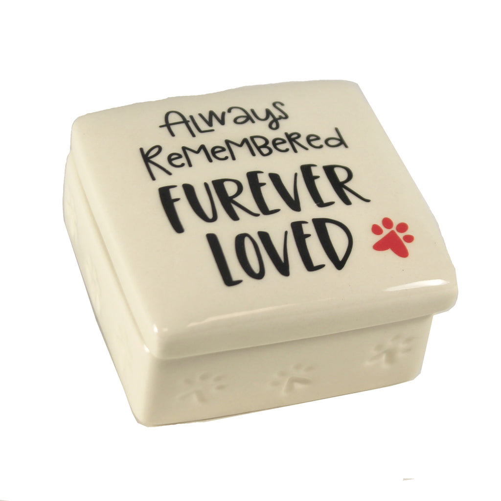 Paw Print Bereavement Box 6008013 Animal Nesting Boxes And Storage Boxes - SBKGIFTS.COM - SBK Gifts Christmas Shop Cincinnati - Story Book Kids