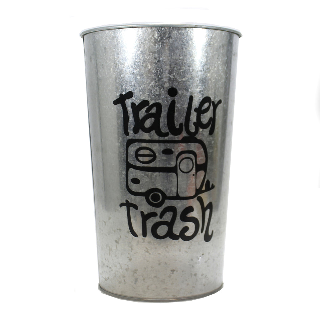 Trailer Trash Can 50576025 Home Decor Home Decor - SBKGIFTS.COM - SBK Gifts Christmas Shop Cincinnati - Story Book Kids