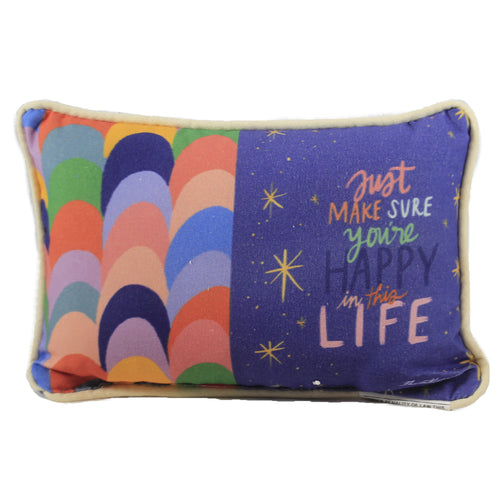Brights Just Make Sure Pillow Swajms Home Decor Decorative Pillows - SBKGIFTS.COM - SBK Gifts Christmas Shop Cincinnati - Story Book Kids