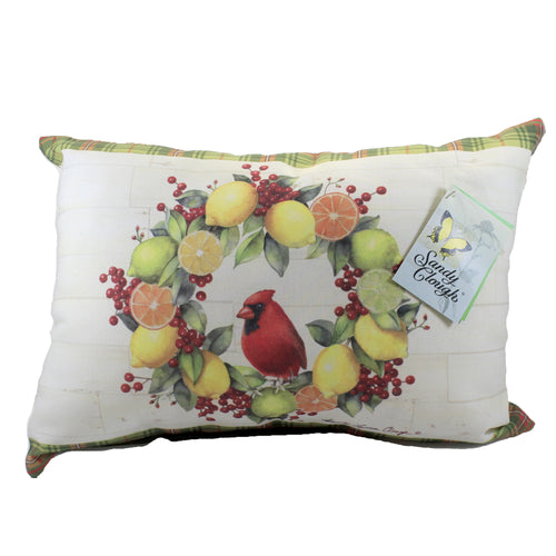 Holiday Citrus Pillow Shhcb Home Decor Decorative Pillows - SBKGIFTS.COM - SBK Gifts Christmas Shop Cincinnati - Story Book Kids