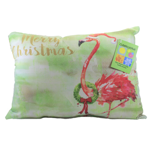 Holiday Arianna Flamingo Pillow Shhafm Home Decor Decorative Pillows - SBKGIFTS.COM - SBK Gifts Christmas Shop Cincinnati - Story Book Kids