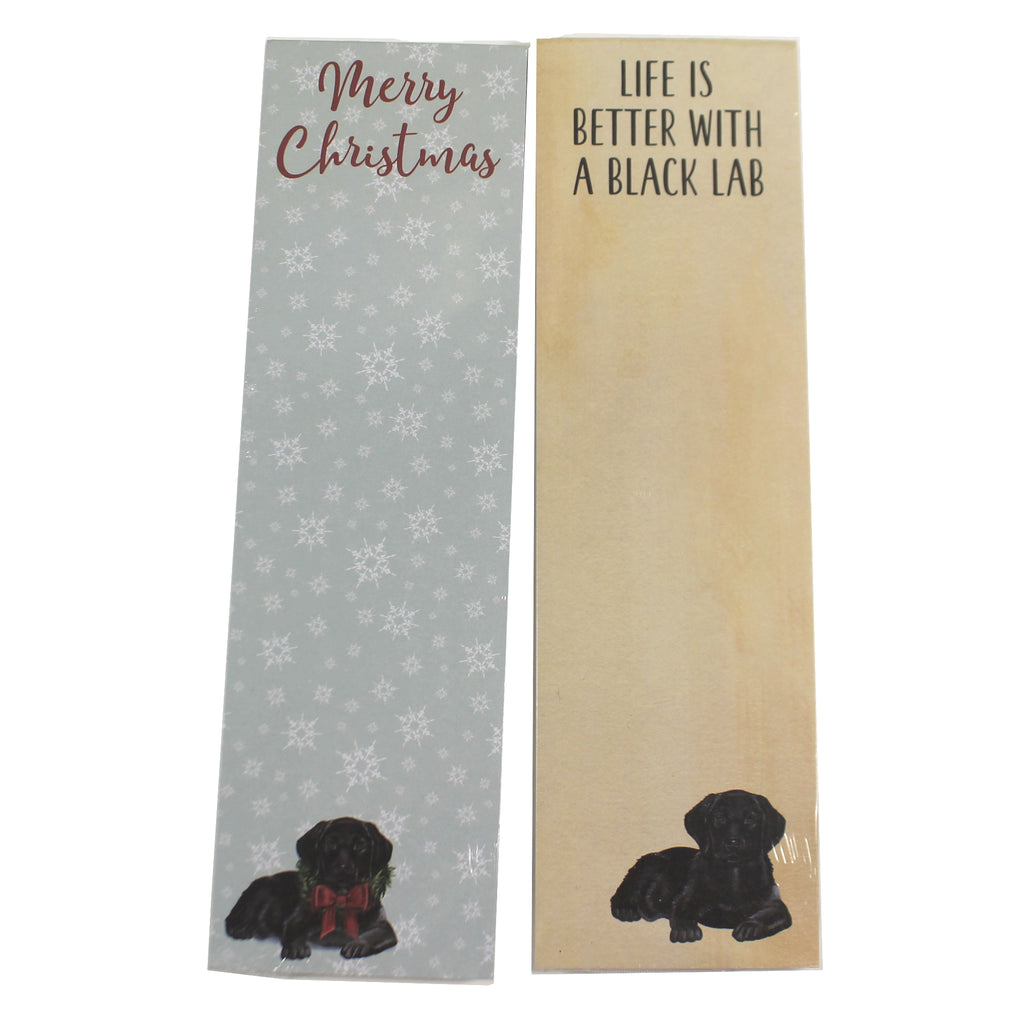 Black Lab Note Pad 10045017 Notepads - SBKGIFTS.COM - SBK Gifts Christmas Shop Cincinnati - Story Book Kids