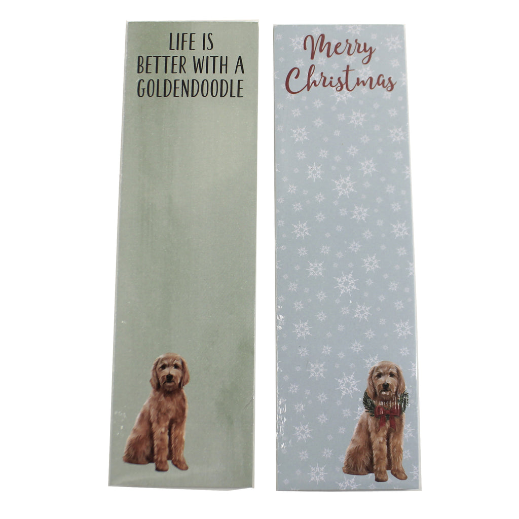 Goldendoodle Note Pads 1044643 Notepads - SBKGIFTS.COM - SBK Gifts Christmas Shop Cincinnati - Story Book Kids