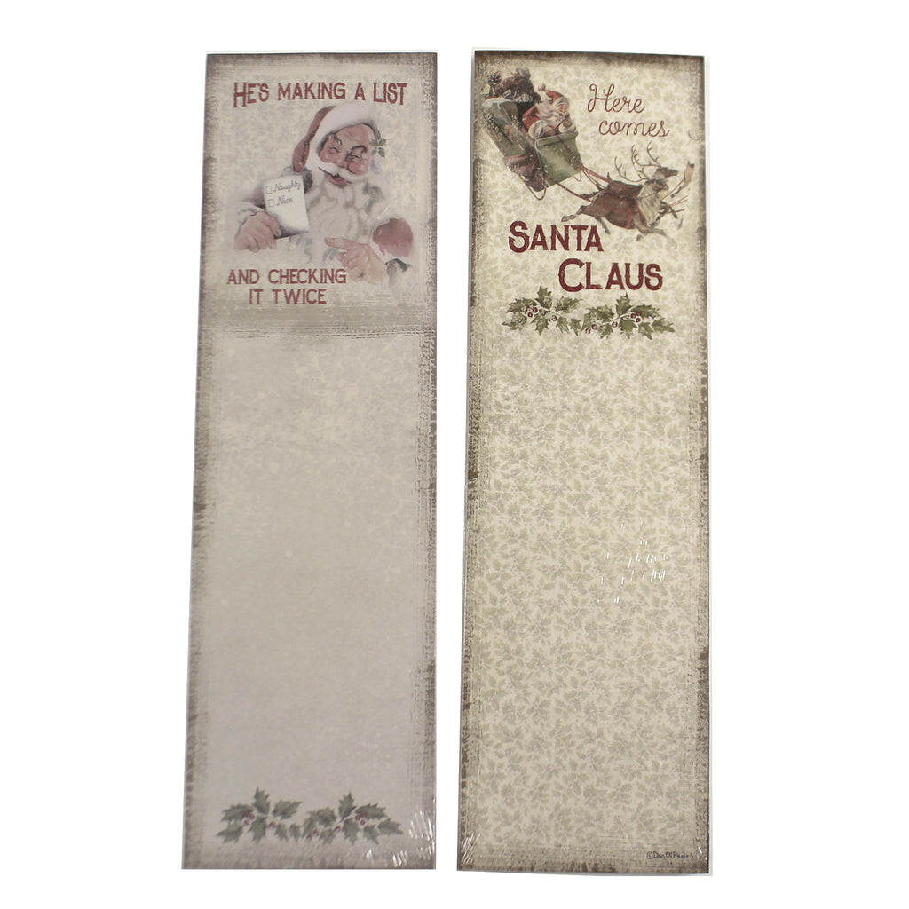 Santa Claus Note Pad 1008346 Notepads - SBKGIFTS.COM - SBK Gifts Christmas Shop Cincinnati - Story Book Kids