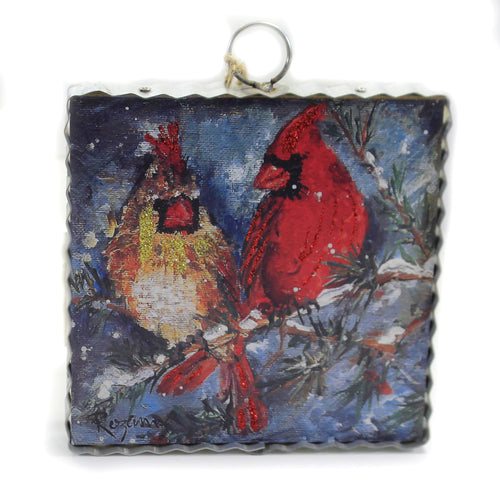 Rozie Cardinal Pair C19179 Home Decor Home Decor - SBKGIFTS.COM - SBK Gifts Christmas Shop Cincinnati - Story Book Kids