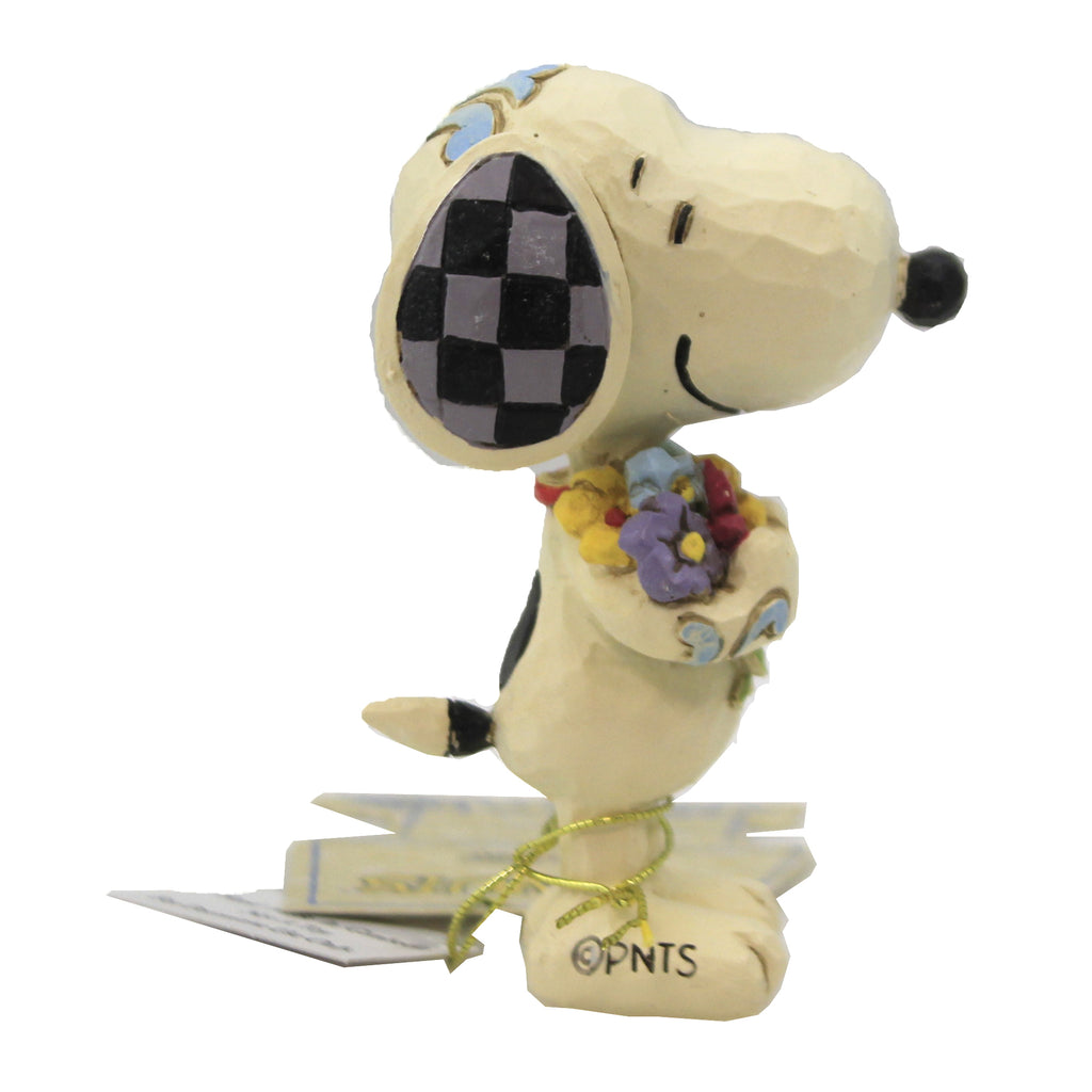 Snoopy With Flowers 6007962 Jim Shore Figurines - SBKGIFTS.COM - SBK Gifts Christmas Shop Cincinnati - Story Book Kids