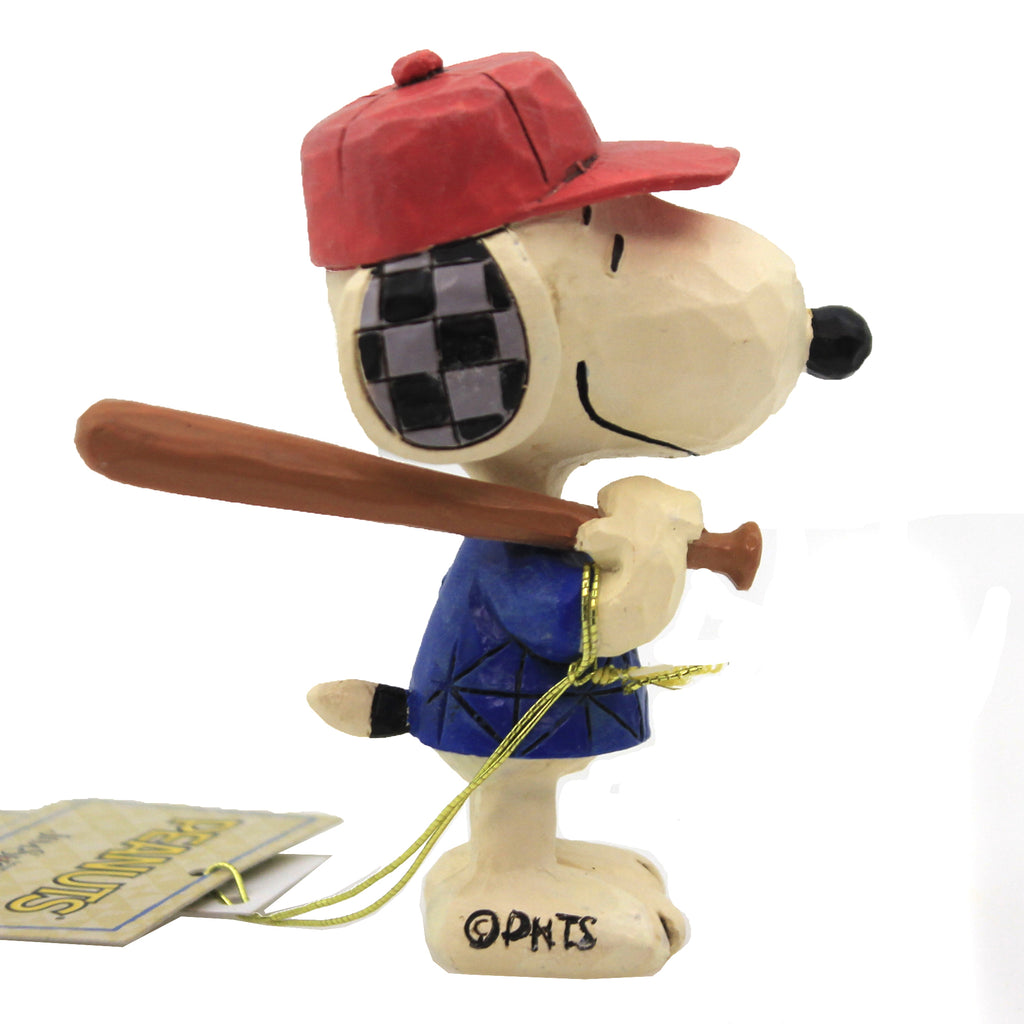 Snoopy Baseball Mini 6007961 Jim Shore Figurines - SBKGIFTS.COM - SBK Gifts Christmas Shop Cincinnati - Story Book Kids