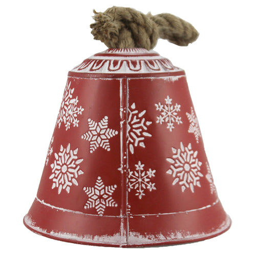 Snowflake Bell 8 Inch Xc426774 Christmas Home Decor - SBKGIFTS.COM - SBK Gifts Christmas Shop Cincinnati - Story Book Kids