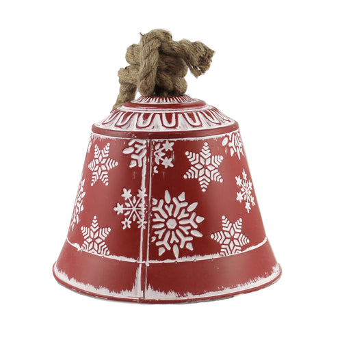 Snowflake Bell 6.5 Inches Xc426574 Christmas Home Decor - SBKGIFTS.COM - SBK Gifts Christmas Shop Cincinnati - Story Book Kids