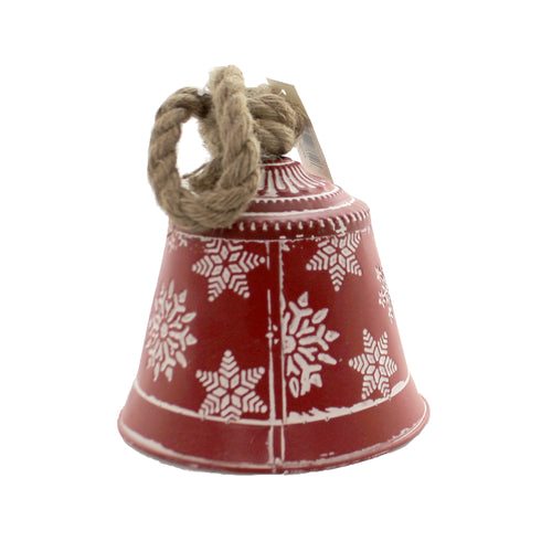 Snowflake Bell 6.0 Inches Xc426374 Christmas Home Decor - SBKGIFTS.COM - SBK Gifts Christmas Shop Cincinnati - Story Book Kids