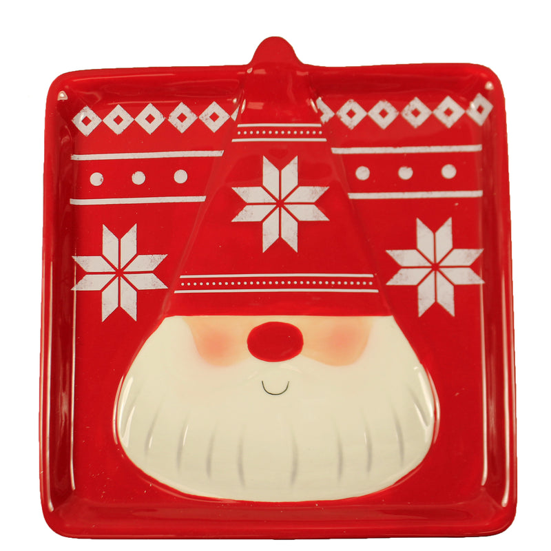 Gnome Plate Mx177490 Tabletop Plates And Platters - SBKGIFTS.COM - SBK Gifts Christmas Shop Cincinnati - Story Book Kids
