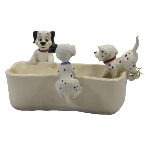 Puppy Bowl 6008060 Jim Shore Figurines - SBKGIFTS.COM - SBK Gifts Christmas Shop Cincinnati - Story Book Kids