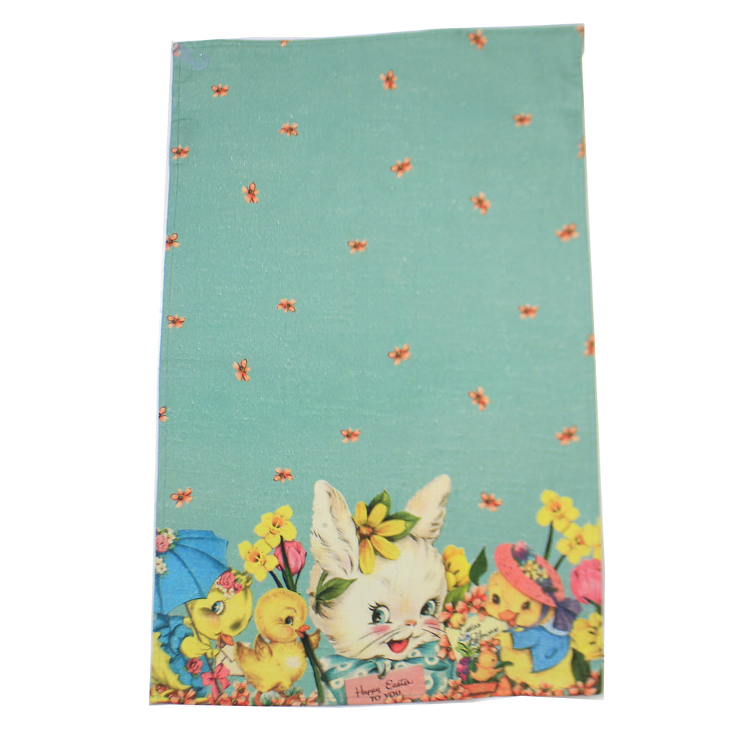 Happy Easter Dish Towel 108696 Tabletop Decorative Towels - SBKGIFTS.COM - SBK Gifts Christmas Shop Cincinnati - Story Book Kids