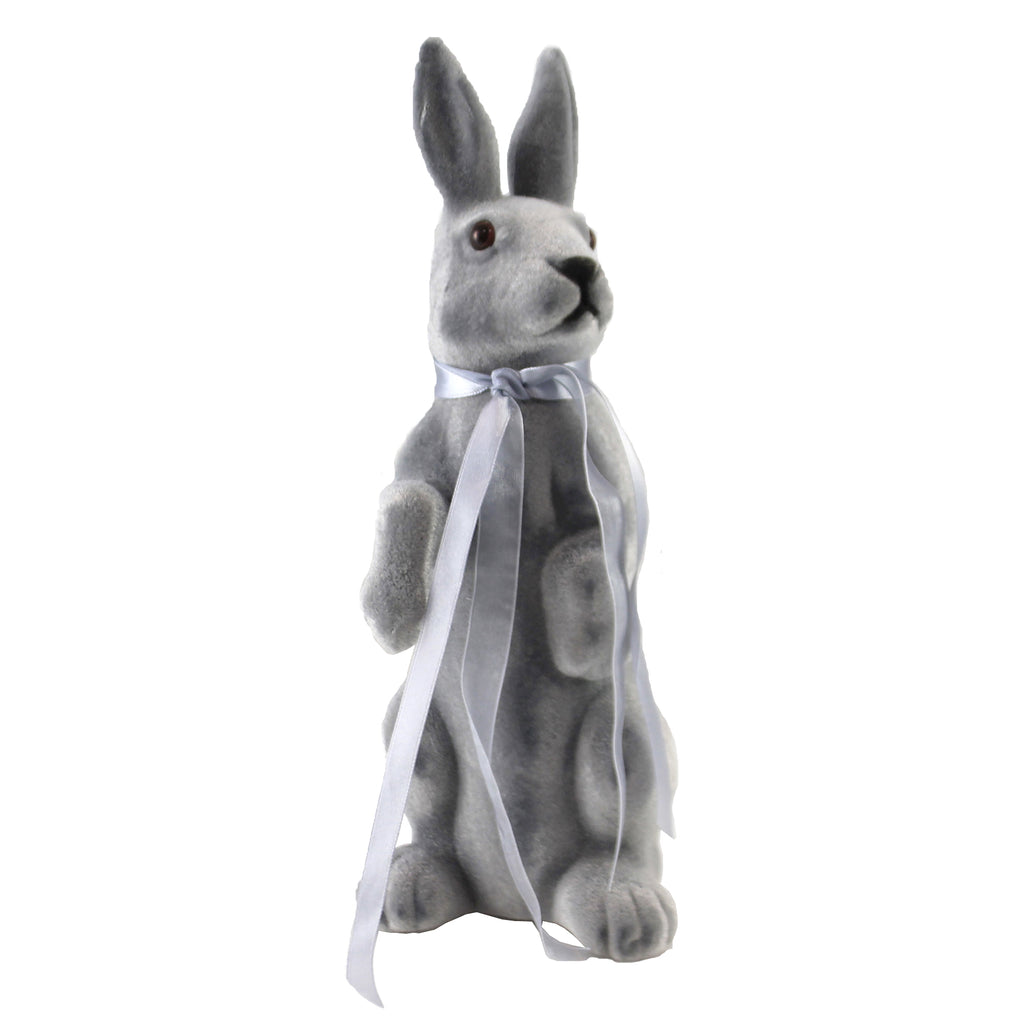 Gray Standing Bunny 102251 Easter Figurines - SBKGIFTS.COM - SBK Gifts Christmas Shop Cincinnati - Story Book Kids