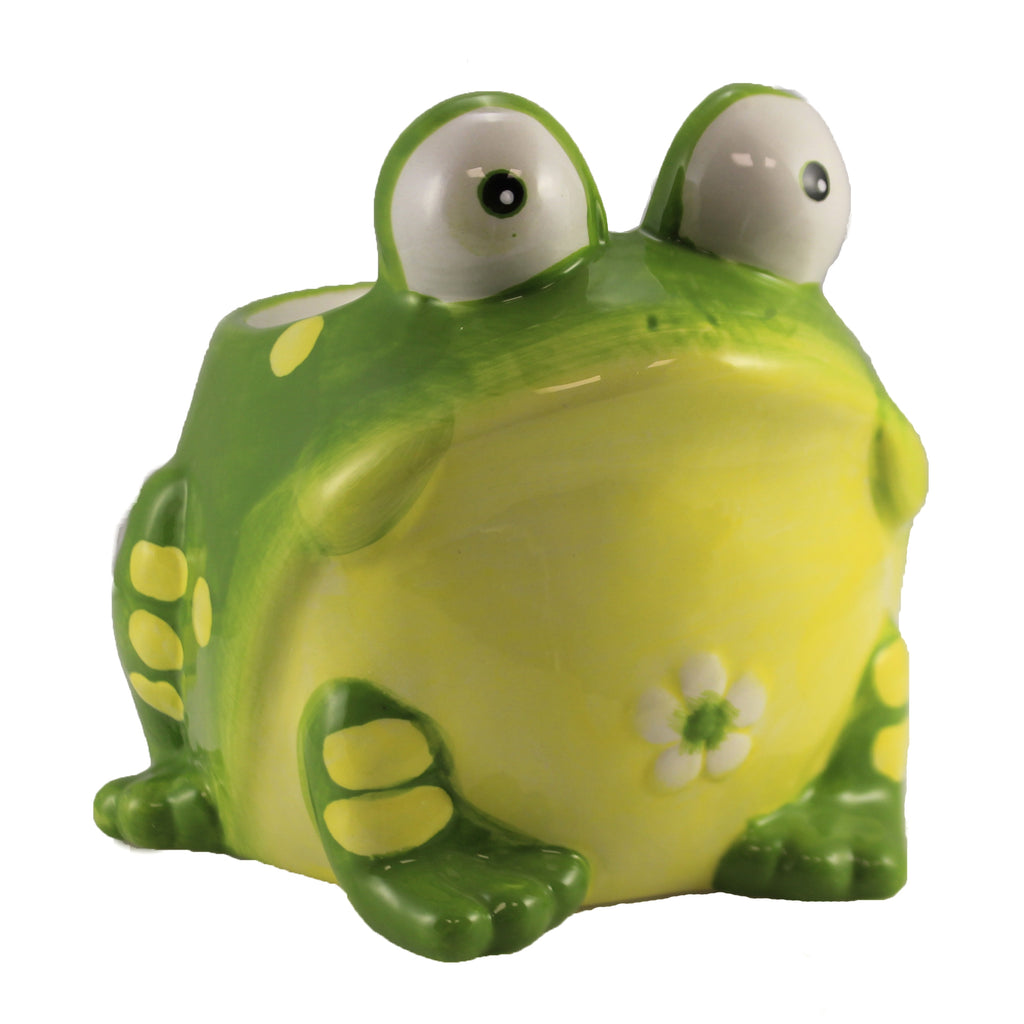 Toby Toad Planter 664313 Home & Garden Pots And Planters - SBKGIFTS.COM - SBK Gifts Christmas Shop Cincinnati - Story Book Kids