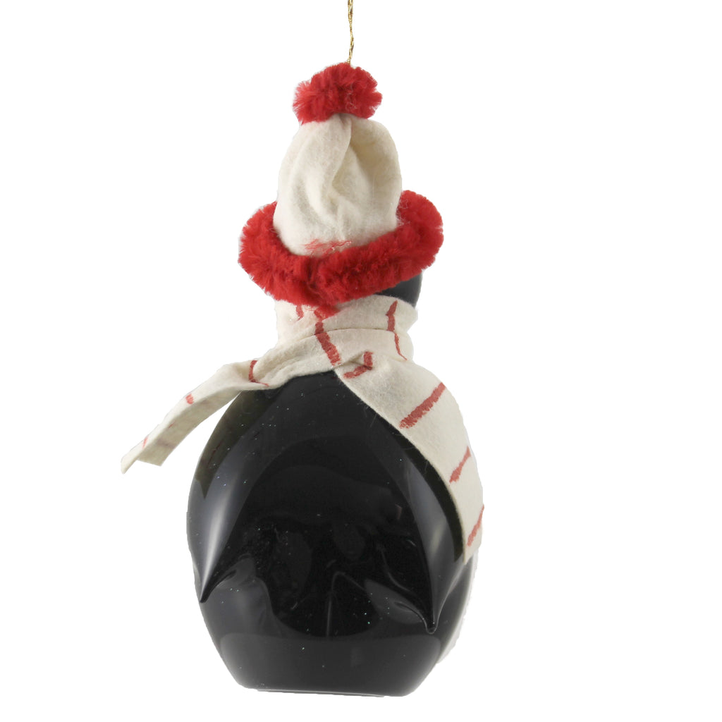 Penguin With White Scarf A5465m De Carlini Glass Ornaments - SBKGIFTS.COM - SBK Gifts Christmas Shop Cincinnati - Story Book Kids