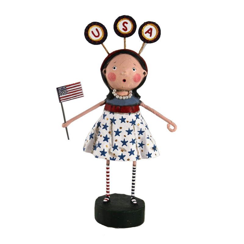 USA Girl 13309 Lori Mitchell Figurines - SBKGIFTS.COM - SBK Gifts Christmas Shop Cincinnati - Story Book Kids