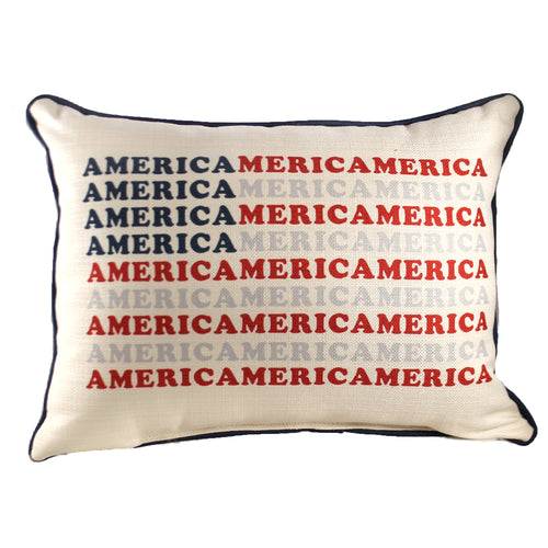 America Pattern Flag Pillow Txt0678 Home Decor Decorative Pillows - SBKGIFTS.COM - SBK Gifts Christmas Shop Cincinnati - Story Book Kids