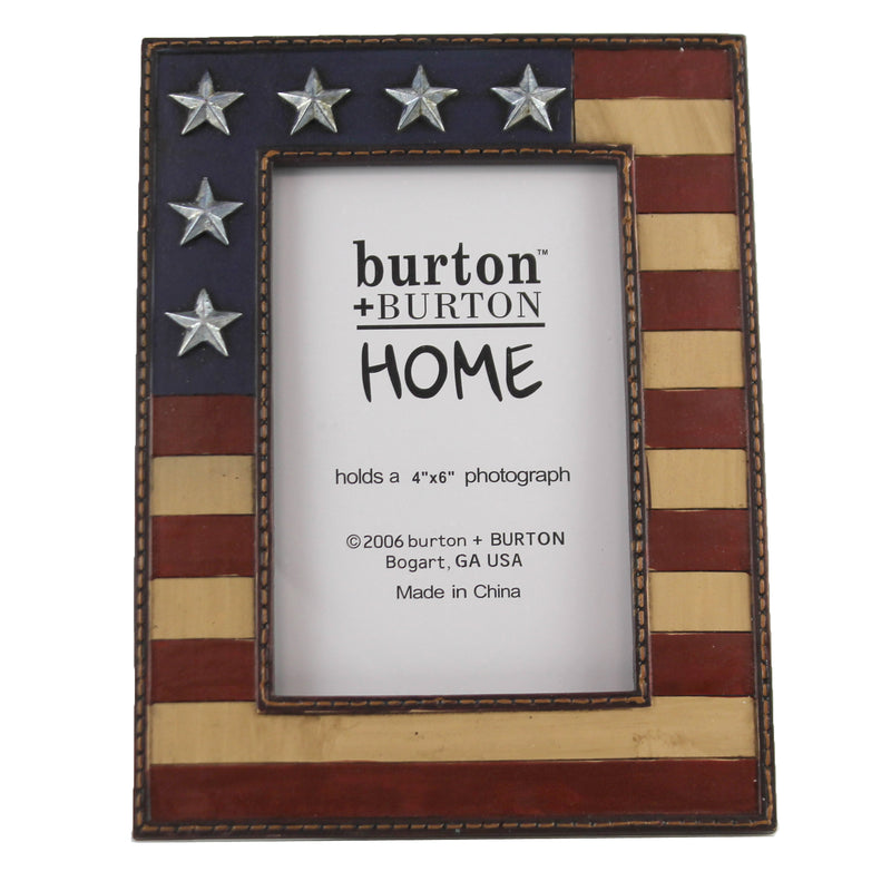 Patriotic Flag Picture Frame 9716283 Home Decor Frames - SBKGIFTS.COM - SBK Gifts Christmas Shop Cincinnati - Story Book Kids