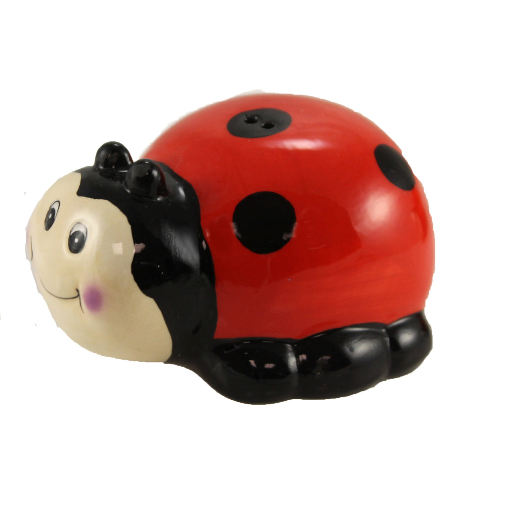 Ladybug Salt & Pepper 9716538 Tabletop Salt And Pepper Shakers - SBKGIFTS.COM - SBK Gifts Christmas Shop Cincinnati - Story Book Kids