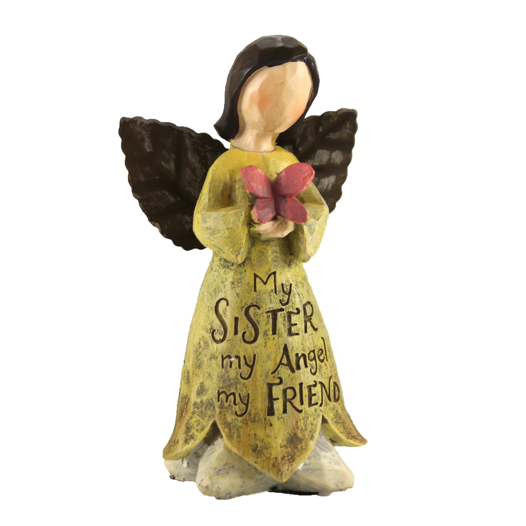 My Sister Angel 9729250 Figurine Figurines - SBKGIFTS.COM - SBK Gifts Christmas Shop Cincinnati - Story Book Kids