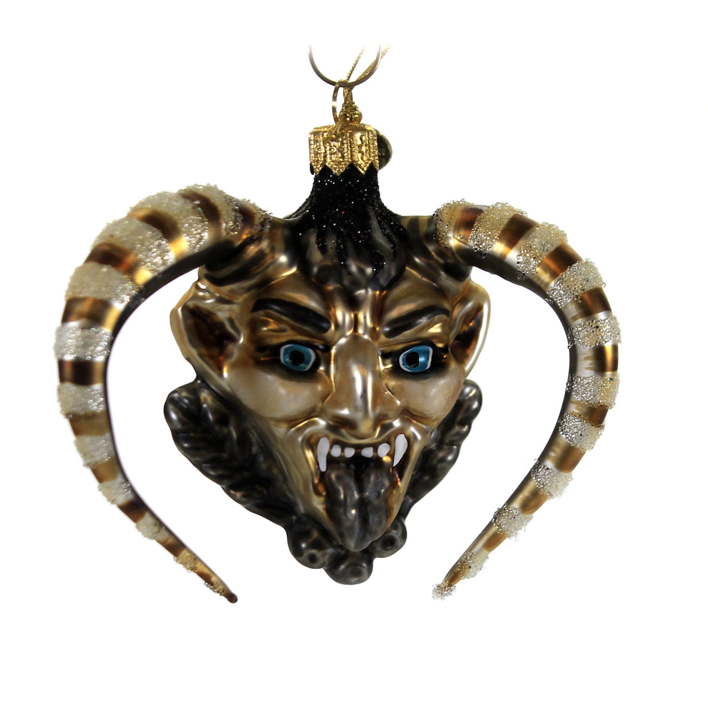 Bronze Krampus 19043 Morawski Glass Ornaments - SBKGIFTS.COM - SBK Gifts Christmas Shop Cincinnati - Story Book Kids