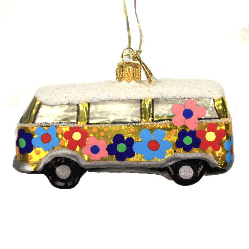 Retro Love Van 17123 Morawski Glass Ornaments - SBKGIFTS.COM - SBK Gifts Christmas Shop Cincinnati - Story Book Kids