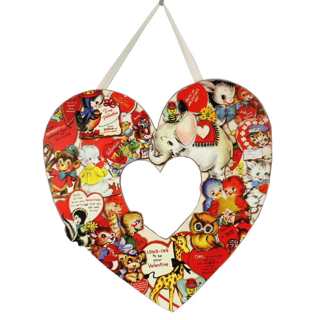 Valentine Vintage Heart Wreath 108701 Valentine's Day Wall Decor And Hanging Decor - SBKGIFTS.COM - SBK Gifts Christmas Shop Cincinnati - Story Book Kids