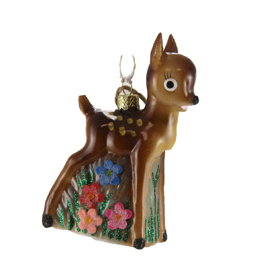 Kitsch Deer Go4057 Holiday Ornament Glass Ornaments - SBKGIFTS.COM - SBK Gifts Christmas Shop Cincinnati - Story Book Kids