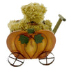 Boyds Bears Plush Mr Punkins W/ Wagon Teddy Bear