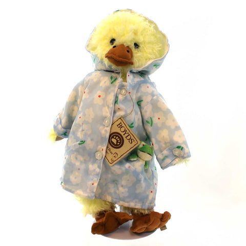 Boyds Bears Plush SPRINKLES QUACKENWADDLE Fabric Exclusive Duck Spring 919883 4893