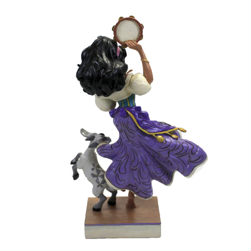 Twirling Tamborine Player 6008071 Jim Shore Figurines - SBKGIFTS.COM - SBK Gifts Christmas Shop Cincinnati - Story Book Kids