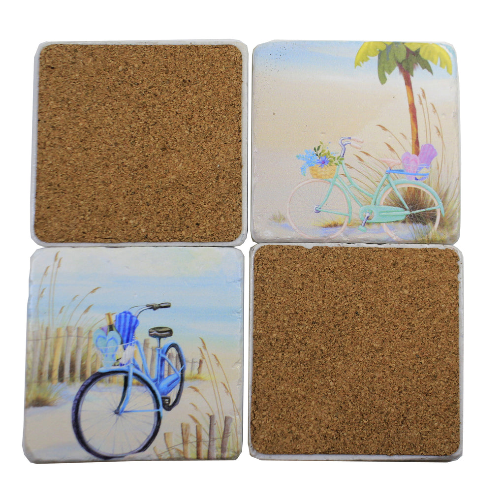 Beach Coaster Set Er62325 Tabletop Coasters - SBKGIFTS.COM - SBK Gifts Christmas Shop Cincinnati - Story Book Kids