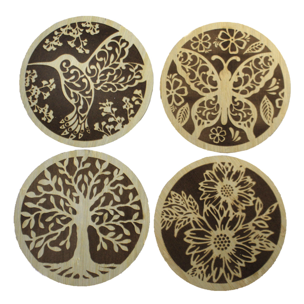 Laser Cut Coasters Er67582 Tabletop Coasters - SBKGIFTS.COM - SBK Gifts Christmas Shop Cincinnati - Story Book Kids