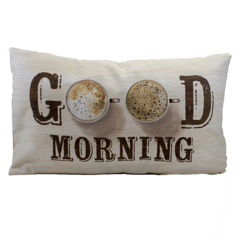Good Morning Pillow Er52108 Home Decor Decorative Pillows - SBKGIFTS.COM - SBK Gifts Christmas Shop Cincinnati - Story Book Kids