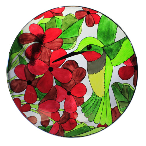 Hummingbird Bird Bath W/Stand 2Gb750 Home & Garden Bird Baths - SBKGIFTS.COM - SBK Gifts Christmas Shop Cincinnati - Story Book Kids