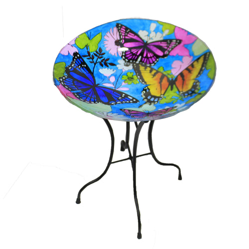 Bountiful Birdbath W/Stand 2Gb749 Home & Garden Bird Baths - SBKGIFTS.COM - SBK Gifts Christmas Shop Cincinnati - Story Book Kids