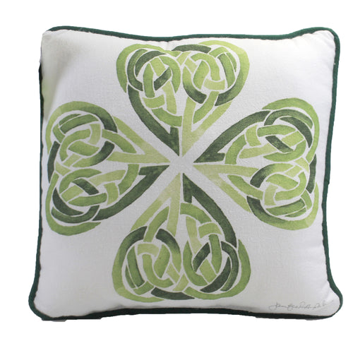 Clover Knot Pillow 8121713 Home Decor Decorative Pillows - SBKGIFTS.COM - SBK Gifts Christmas Shop Cincinnati - Story Book Kids