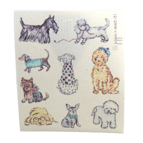 Dog Fancy Pw04 Swedish Dish Cloth Household Cleaning Cloth And Tool - SBKGIFTS.COM - SBK Gifts Christmas Shop Cincinnati - Story Book Kids