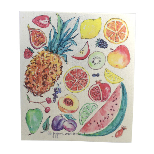 Tutti Fruitti Pw03 Swedish Dish Cloth Household Cleaning Cloth And Tool - SBKGIFTS.COM - SBK Gifts Christmas Shop Cincinnati - Story Book Kids