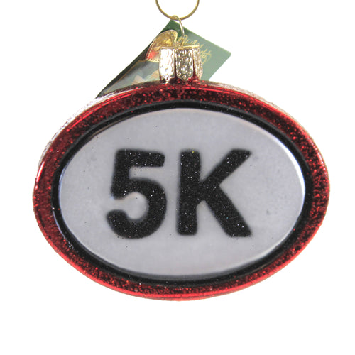5K Run 44167 Old World Christmas Glass Ornaments - SBKGIFTS.COM - SBK Gifts Christmas Shop Cincinnati - Story Book Kids