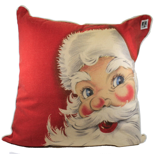 Santa Pillow Lg Xak874 Christmas Decorative Pillows - SBKGIFTS.COM - SBK Gifts Christmas Shop Cincinnati - Story Book Kids