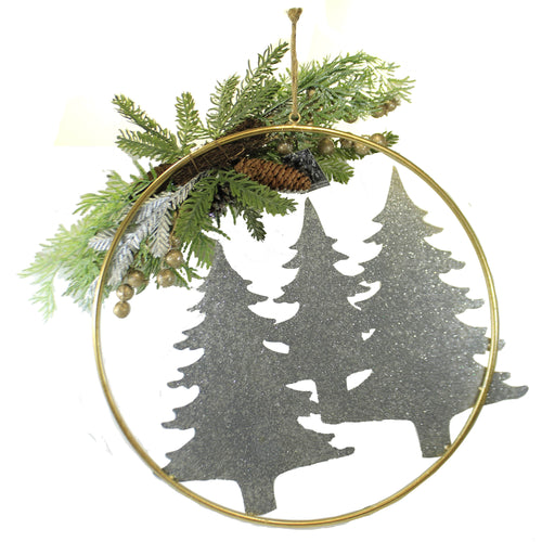 Christmas Tree Metal Ring 3800402 Christmas Wall Decor And Hanging Decor - SBKGIFTS.COM - SBK Gifts Christmas Shop Cincinnati - Story Book Kids
