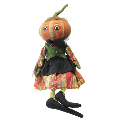 Kimberly Pumpkin Head Kid Fgs73325 Halloween Plush - SBKGIFTS.COM - SBK Gifts Christmas Shop Cincinnati - Story Book Kids