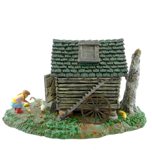 Dept 56 Accessories Feeding The Ducks Village Accessory